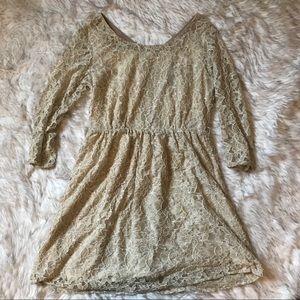 Large Lace ModCloth Mid-length Dress
